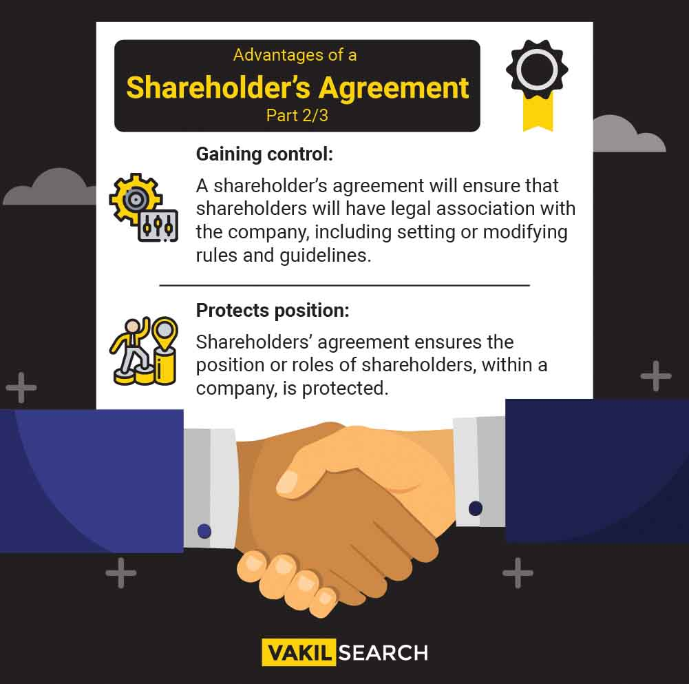advantages of shareholders agreement