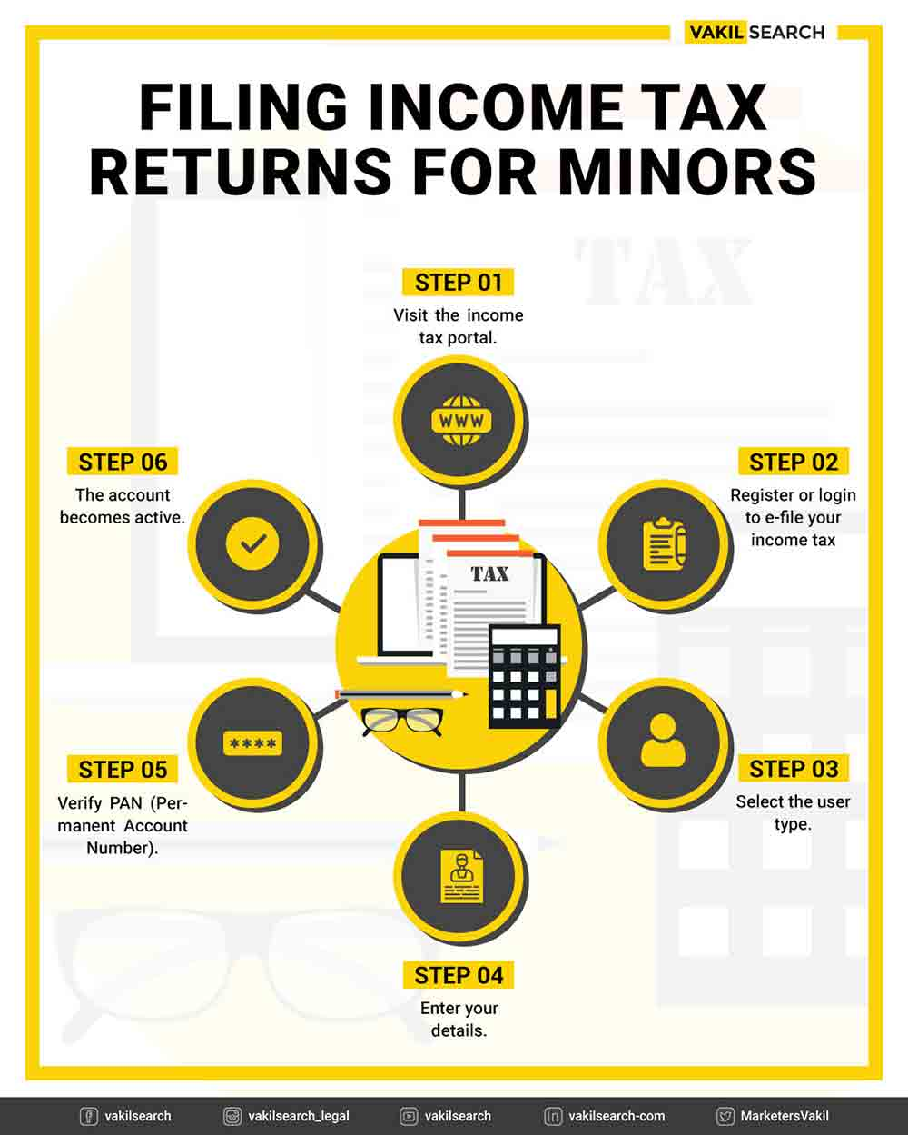 filing income tax return for minors