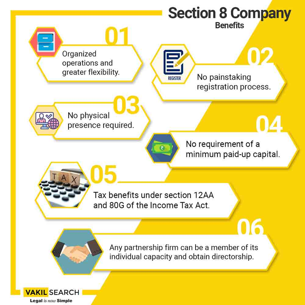 benefit of section 8 company
