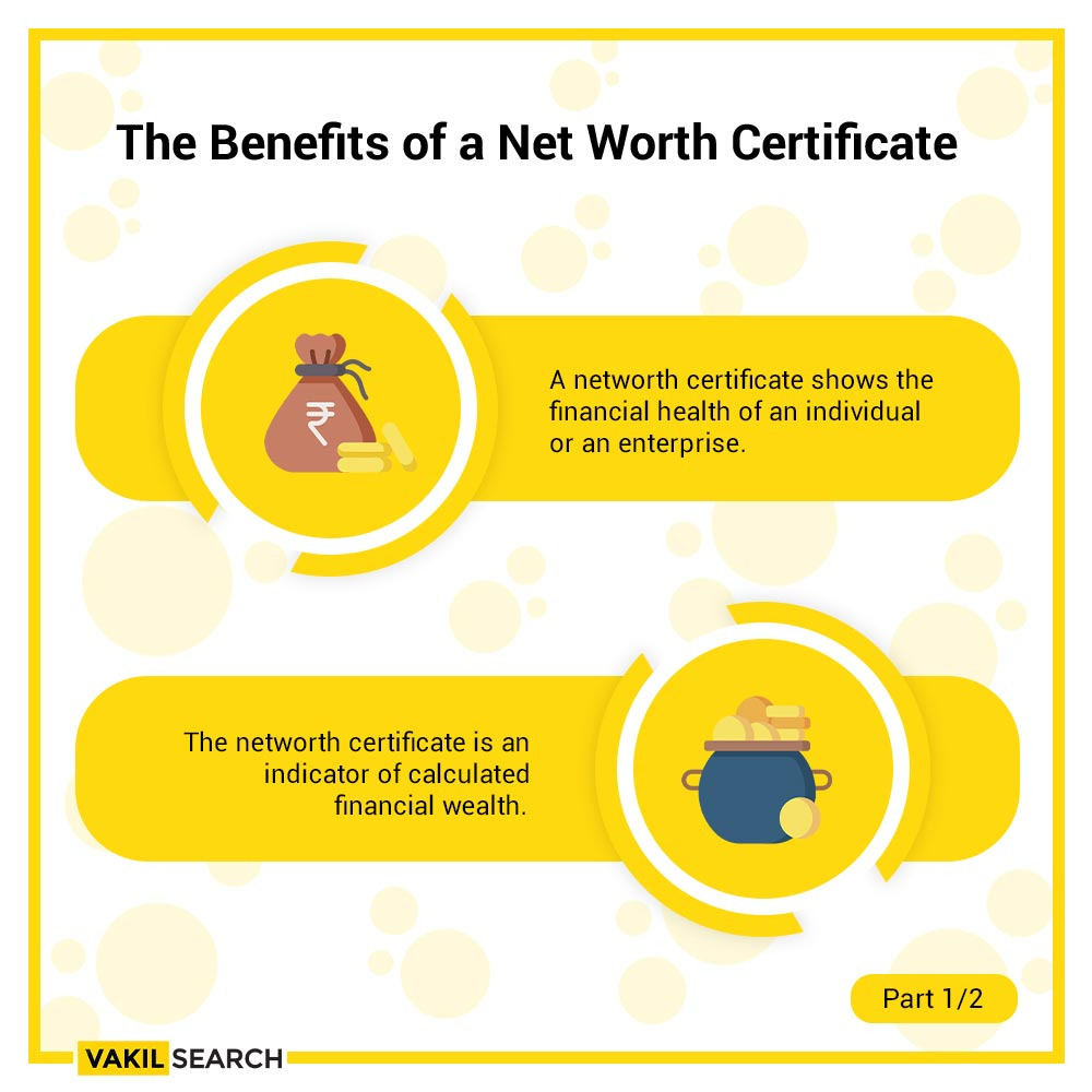 Benefits of a Networth Certificate